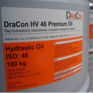 olej hydrauliczny DraCon HV 46 Premium Oil